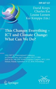 Proceedings of HCC13 published by Springer