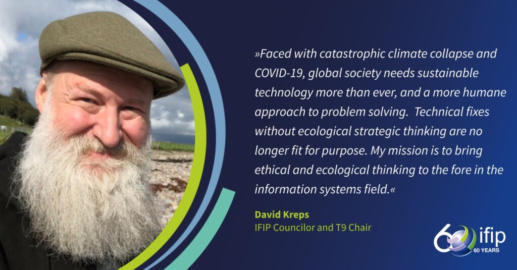 My mission is to bring ethical and ecological thinking to the fore in the information systems field