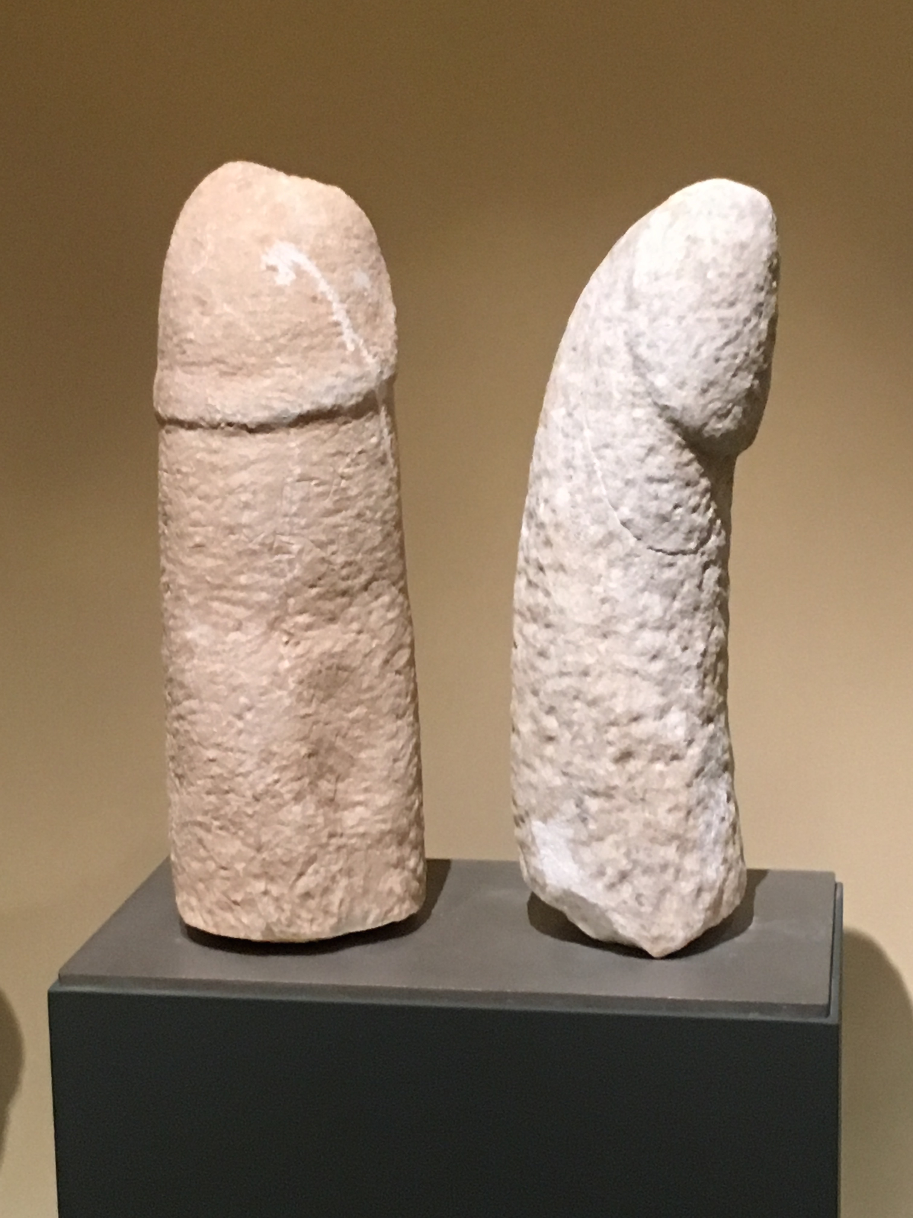 Two funerary Herms