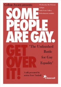 Some People Are Gay.  Get Over It.