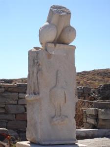One of many stone Phalloi on Delos