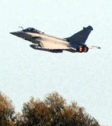 French (?) jet over Libya